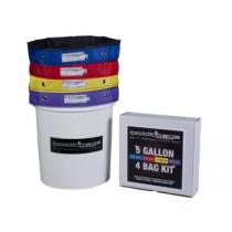 Boldtbags 5 Gallon 4 Bag Kit