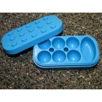 7 Chamber Silicone Blue
