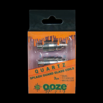 Ooze splash guard coils