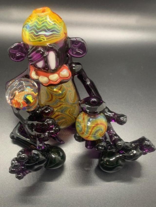 HoodRattShit X Cowboy Glass